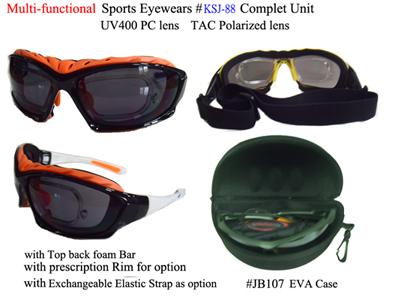 5ab67a2c3c Multi-Function exchange sport with Prescription Rim
